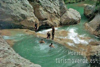 TURISMO VERDE HUESCA. ALBERGUE RURAL DE GUARA de ALQUEZAR